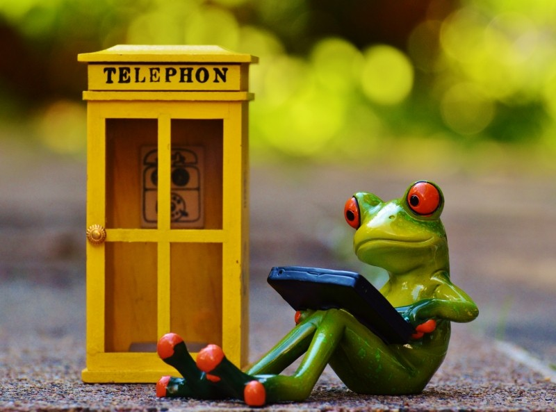 frog-phone-booth-phone-computer-laptop-email