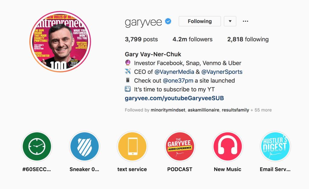 Instagrami turundus - konto